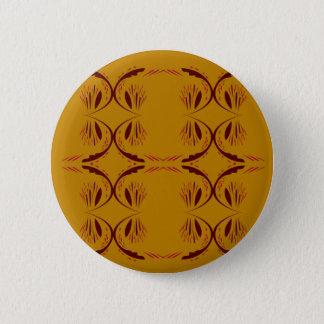 Chapa Redonda De 5 Cm Oro de los elementos del diseño