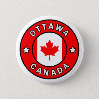 Chapa Redonda De 5 Cm Ottawa Canadá