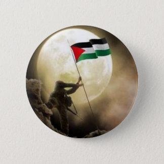 Chapa Redonda De 5 Cm Palestina