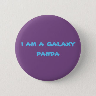 Chapa Redonda De 5 Cm pandas de la galaxia
