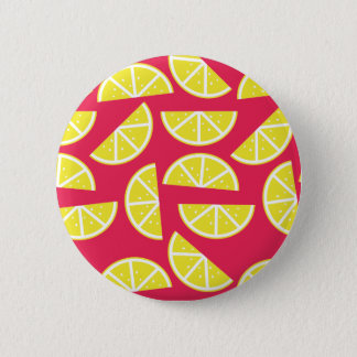 Chapa Redonda De 5 Cm pattern of lemon