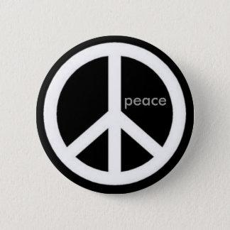 Chapa Redonda De 5 Cm paz