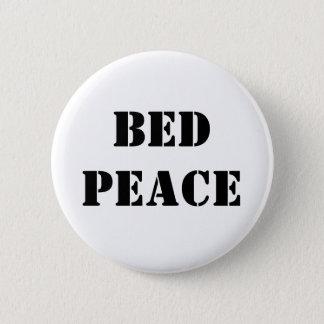 Chapa Redonda De 5 Cm Paz de la cama