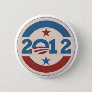 Chapa Redonda De 5 Cm Perno de Obama