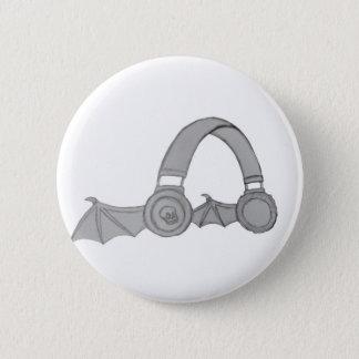 Chapa Redonda De 5 Cm Perno del auricular