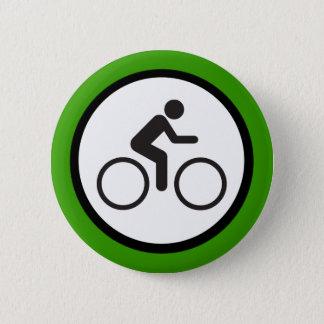 Chapa Redonda De 5 Cm perno del paseo de la bici