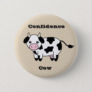 Chapa Redonda De 5 Cm Pernos de la vaca de la confianza