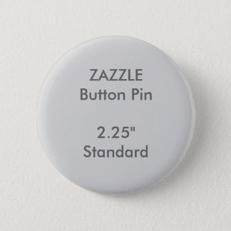 """Chapa Redonda De 5 Cm Personalizado 2,25"""" de ZAZZLE GRIS redondo"""
