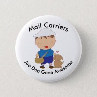 Chapa Redonda De 5 Cm Personalizado del aprecio del empleado de correos