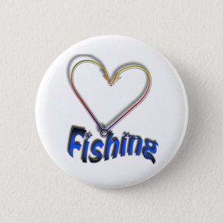 Chapa Redonda De 5 Cm pesca del amor