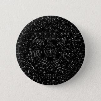 Chapa Redonda De 5 Cm Pin completo negro de Sigillum Dei Aemeth