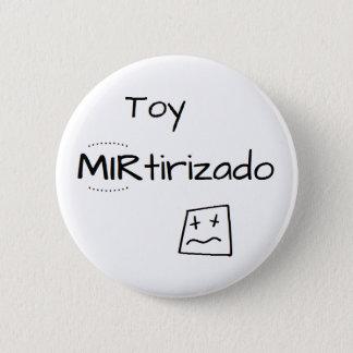 Chapa Redonda De 5 Cm Pin con dibujo de Toy MIRtirizado