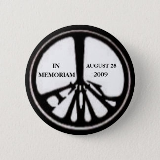 Chapa Redonda De 5 Cm Pin conmemorativo de Ted Kennedy