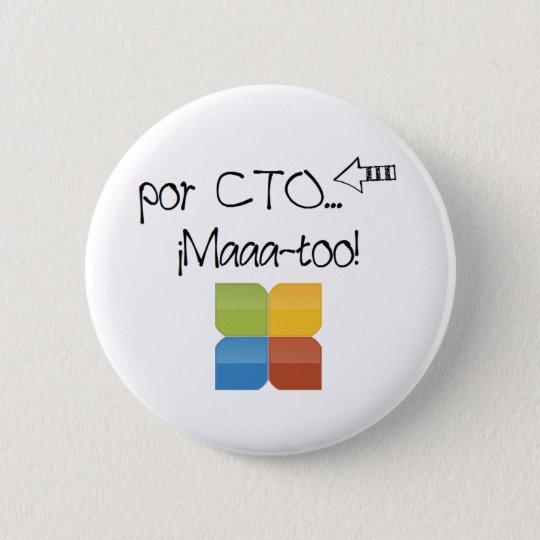 Chapa Redonda De 5 Cm Pin de academia CTO