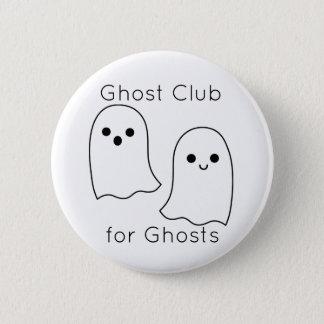 Chapa Redonda De 5 Cm Pin del club del fantasma