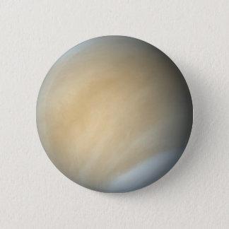 Chapa Redonda De 5 Cm Pin del planeta de Venus