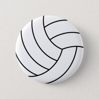 Chapa Redonda De 5 Cm Pin del voleibol