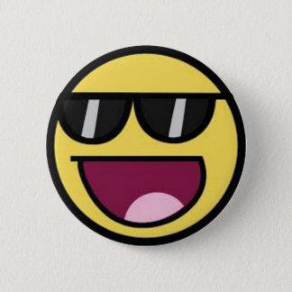 Chapa Redonda De 5 Cm Pin épico de la cara
