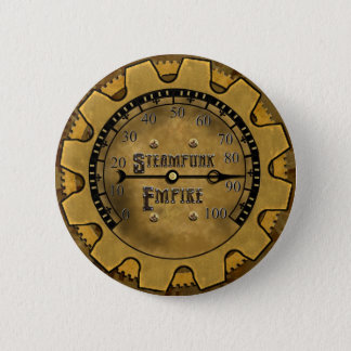 Chapa Redonda De 5 Cm Pin oficial del imperio de Steampunk