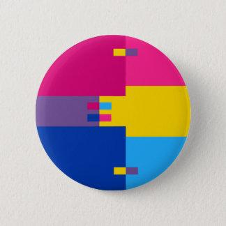 Chapa Redonda De 5 Cm Pin Pansexual de Biromantic