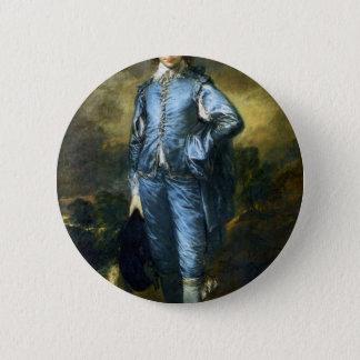 Chapa Redonda De 5 Cm Pintura del arte de Thomas Gainsborough: El