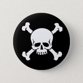 Chapa Redonda De 5 Cm Pirata