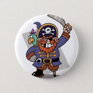 Chapa Redonda De 5 Cm Pirata Espada-Que agita