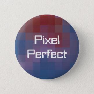 Chapa Redonda De 5 Cm Pixel Pixelated perfecto