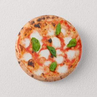 Chapa Redonda De 5 Cm pizza italiana deliciosa del margherita