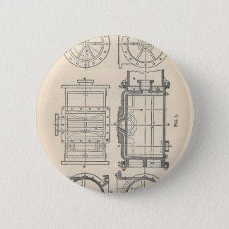 Chapa Redonda De 5 Cm Pocletbook del mecánico