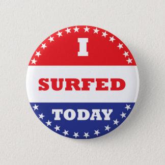 Chapa Redonda De 5 Cm Practiqué surf hoy