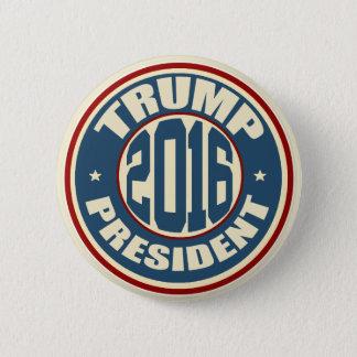 Chapa Redonda De 5 Cm Presidente 2016 de Donald Trump