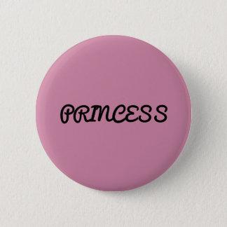 Chapa Redonda De 5 Cm Princesa Button