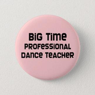 Chapa Redonda De 5 Cm Profesor profesional de la danza de la primera