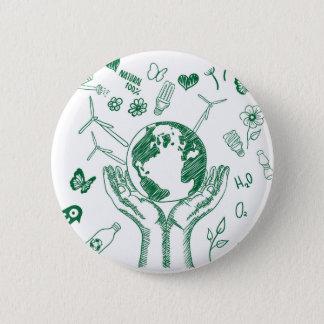 Chapa Redonda De 5 Cm Proteja el ambiente