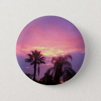Chapa Redonda De 5 Cm Puesta del sol de Coloful la Florida