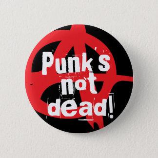 Chapa Redonda De 5 Cm ¡Punk no muerto!