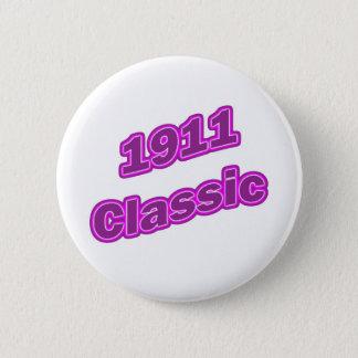 Chapa Redonda De 5 Cm Púrpura clásica 1911