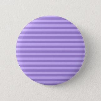 Chapa Redonda De 5 Cm Rayas finas - violetas y violadas claras