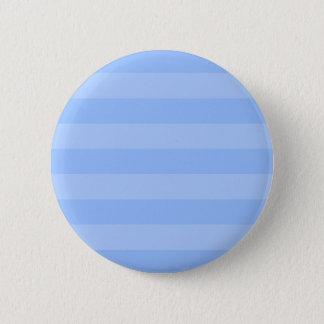 Chapa Redonda De 5 Cm Rayas sombreadas coloreadas azul rayado. Duchas