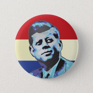 Chapa Redonda De 5 Cm Recordar a John F. Kennedy