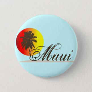 Chapa Redonda De 5 Cm Recuerdo de Maui Hawaii