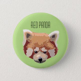 Chapa Redonda De 5 Cm Red Panda Button