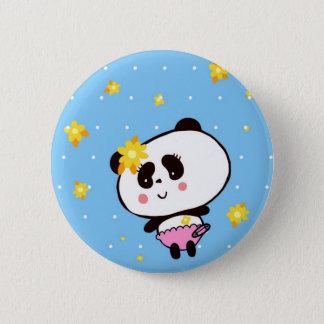 Chapa Redonda De 5 Cm Regalos para los osos de pandas lindos de los