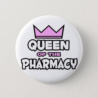 Chapa Redonda De 5 Cm Reina de la farmacia