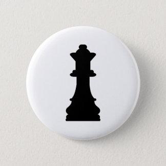 Chapa Redonda De 5 Cm Reina del ajedrez