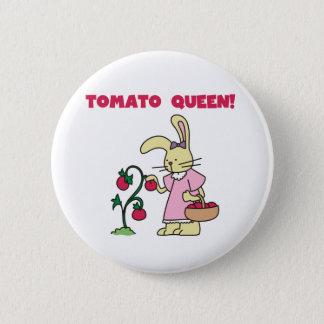 Chapa Redonda De 5 Cm Reina del tomate