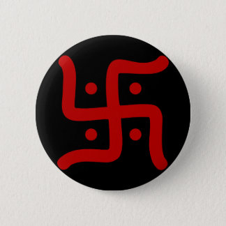 Chapa Redonda De 5 Cm religión hindú tradicional india del símbolo de la