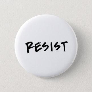 Chapa Redonda De 5 Cm Resista el botón, tamaño estándar, elija su color