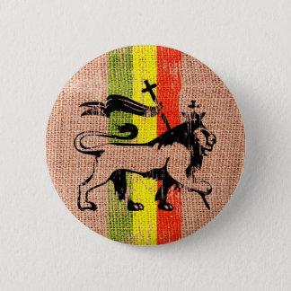 Chapa Redonda De 5 Cm Rey del león del reggae